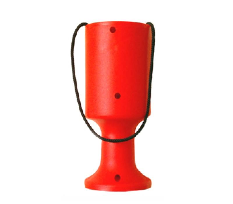Orange Handheld Charity Collection Fundraising Money Tin/Pot/Box