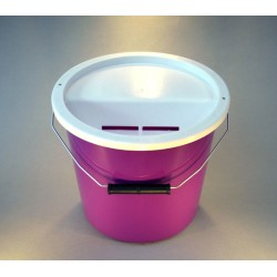 Purple Charity Collection Box