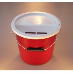 Red Charity Collection Box