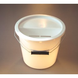 White Charity Collection Box